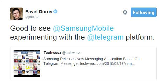Durov-Samsung