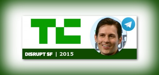 Durov at TechCrunch | telegramGeeks.com