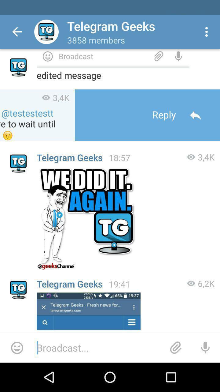 Rating: telegram new channel list