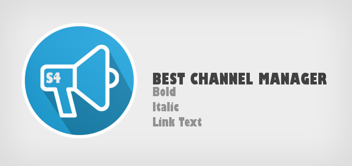 S4 Channels Bot: Your Channel manager to send formatted text
