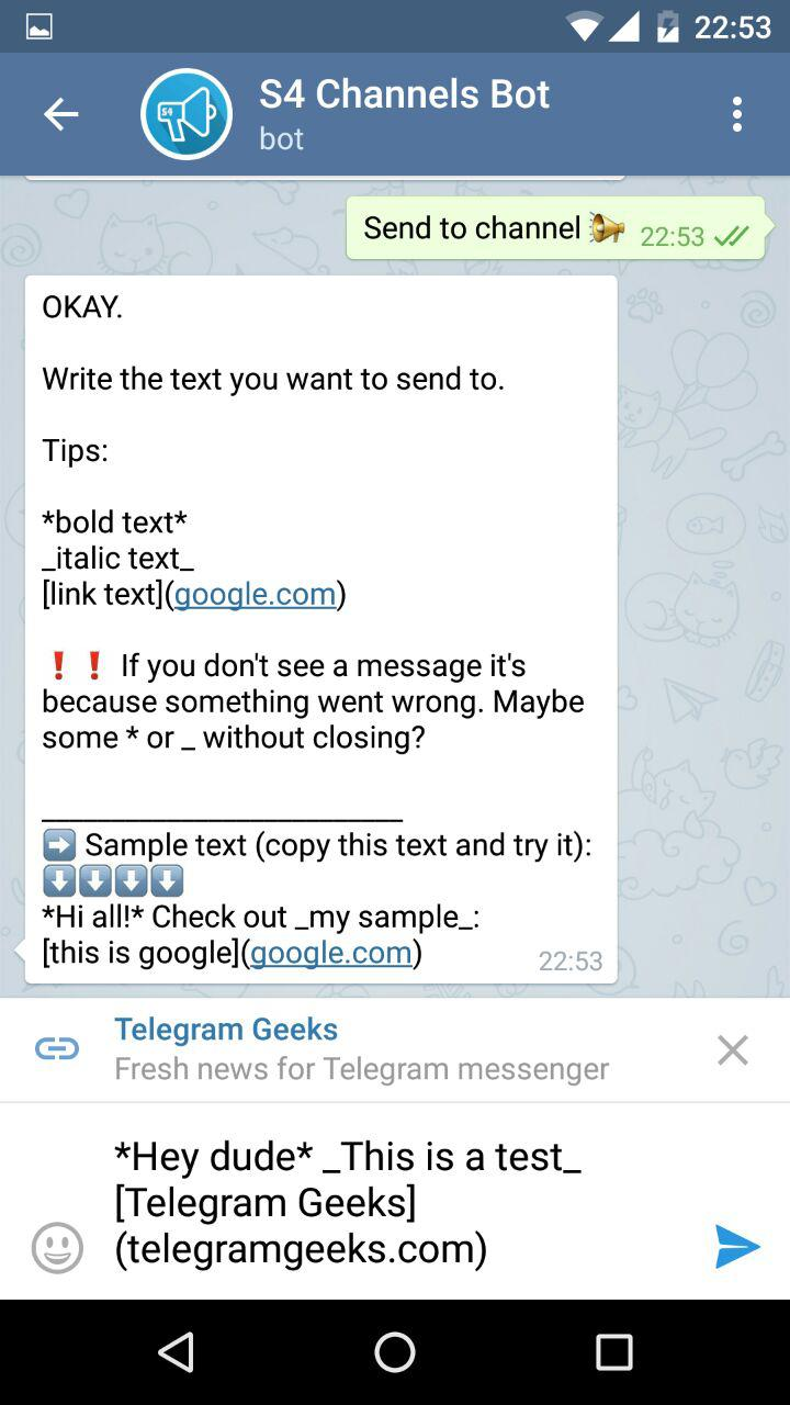 How to send a telegram channel link. how to.make.a channel into a super.group.on telegram.