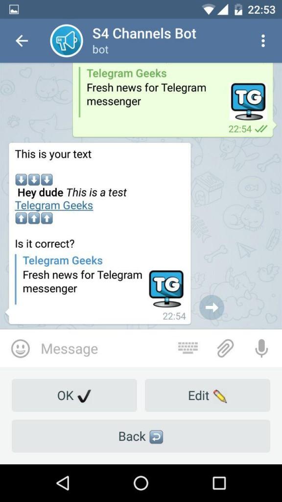 Rating: telegram bot channel manager