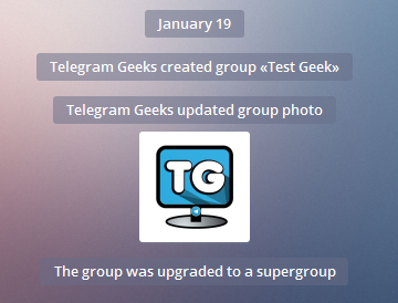 supergroup telegram upgrade
