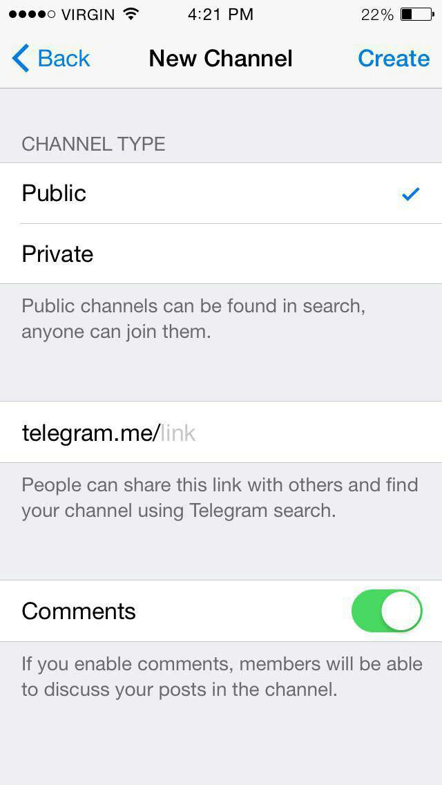 The best: old telegram channels