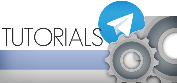 tutorials for telegram messenger
